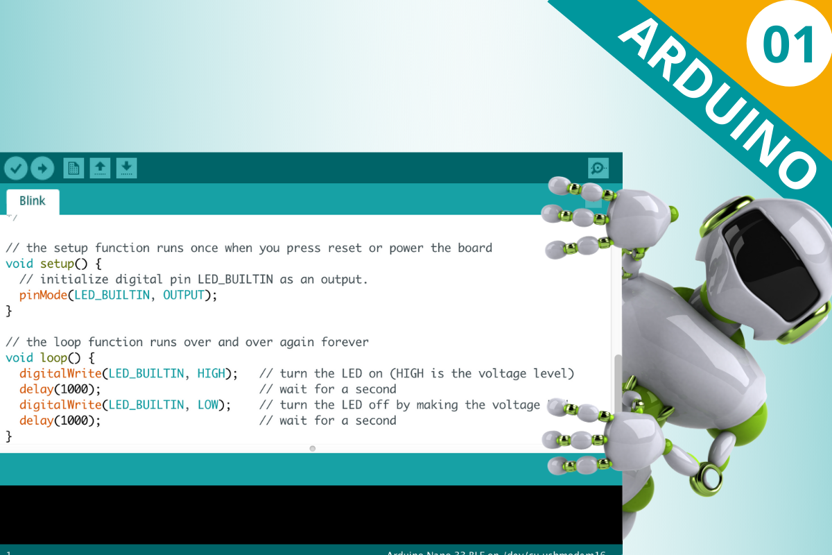 Arduino Lesson 01: Getting Started