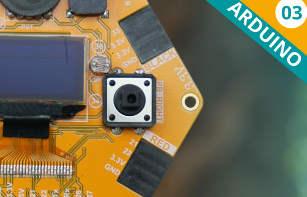 Arduino Lesson 03: Reading a Push button