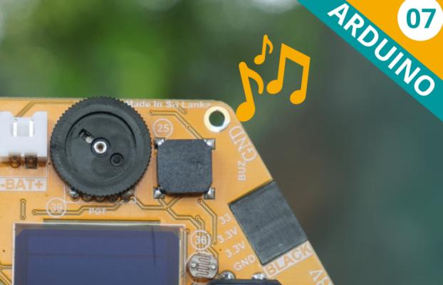 Arduino Lesson 07: Generating Tones