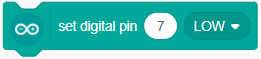 Set digital pin
