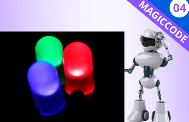 MagicCode Lesson 04: Blinking a LED