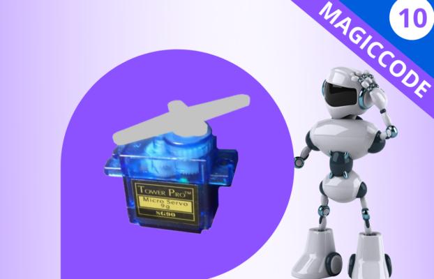 MagicCode LEsson 10: Magicbit Servo