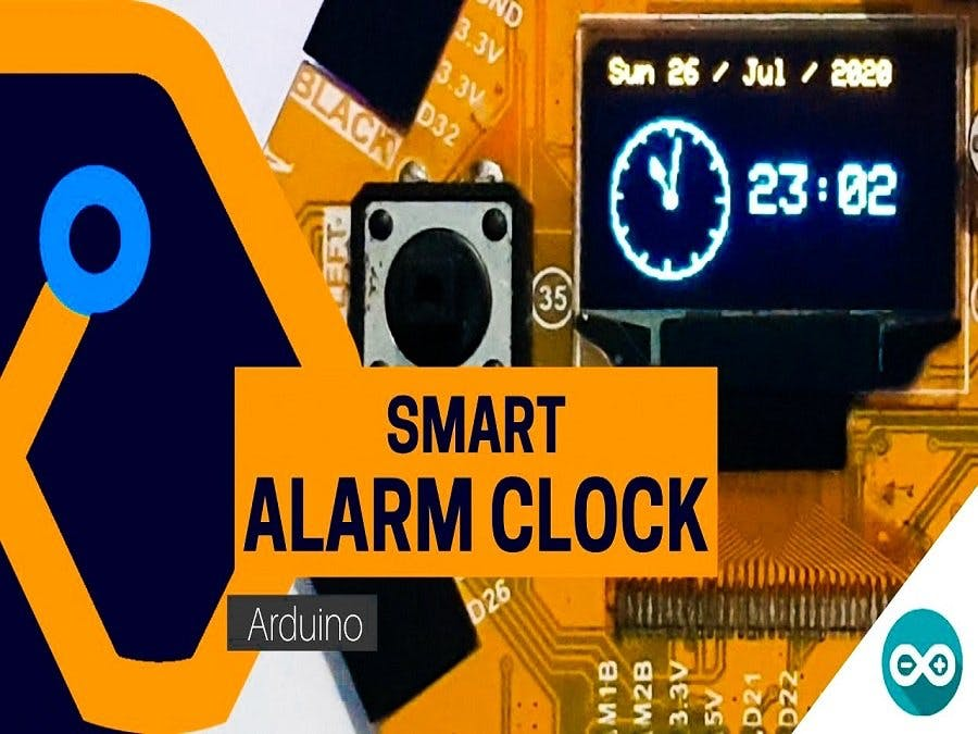 Smart Alarm Clock Using Magicbit (Arduino)