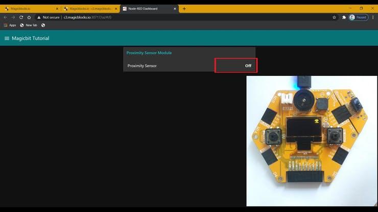 Make a Proximity Sensor with Magicbit pic 19