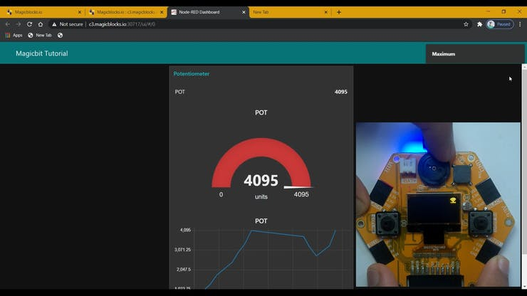 Use Dashboard Widgets with Magicbit pic 23