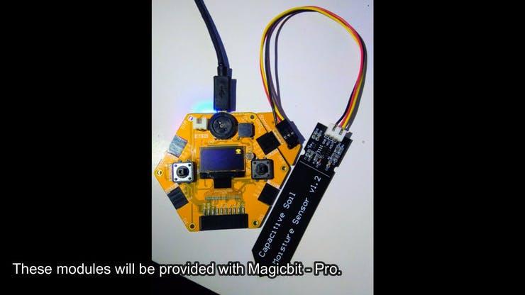 Use Soil Moisture Sensor with Magicbit pic 17