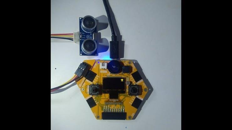 Ultrasonic Sensor with Magicbit pic 8