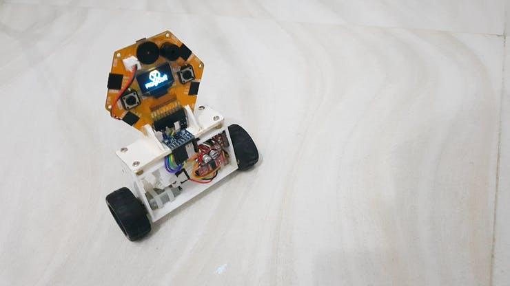 Self balancing robot pic 1