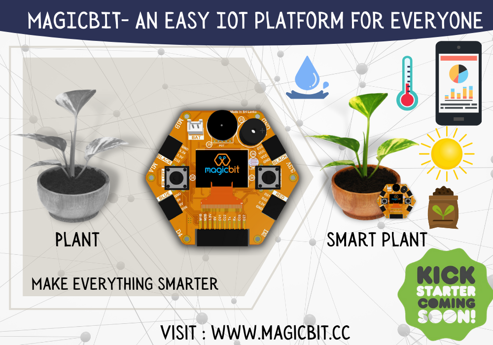 Magicbit- An easy IoT platform for everyone